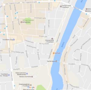 Havfruen kart